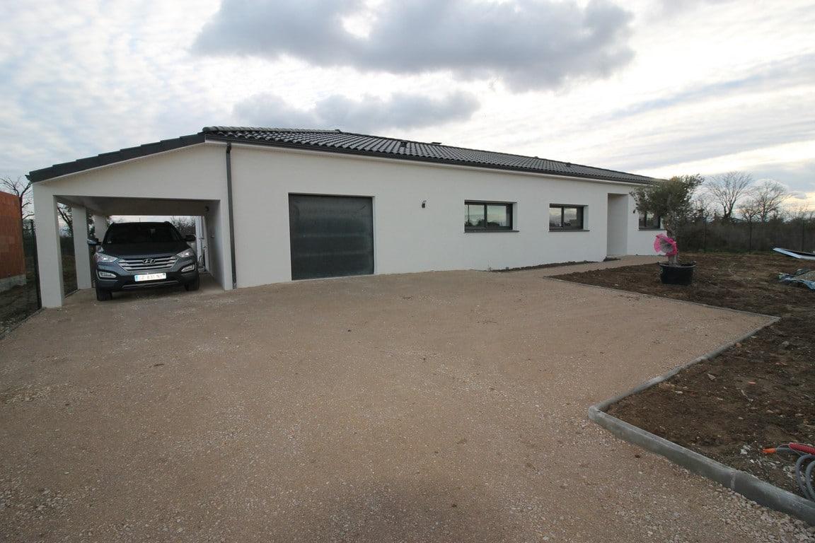 Maison en u de type 7 montauban maitriz habitat for Constructeur de maison montauban
